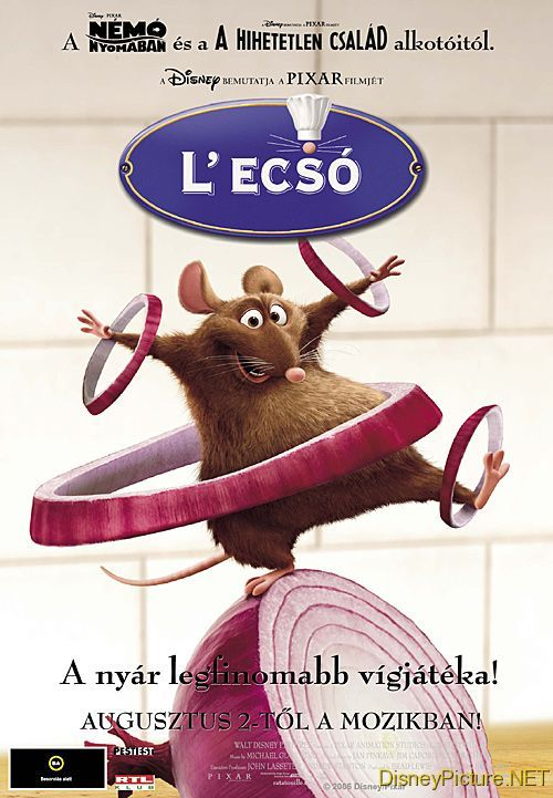 Ratatouille high quality Poster