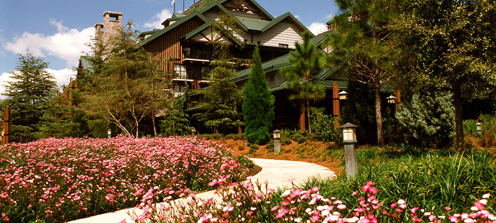 Wilderness Lodge garden