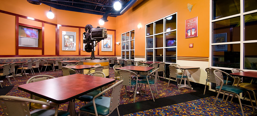 All-Star movies resort DINING room
