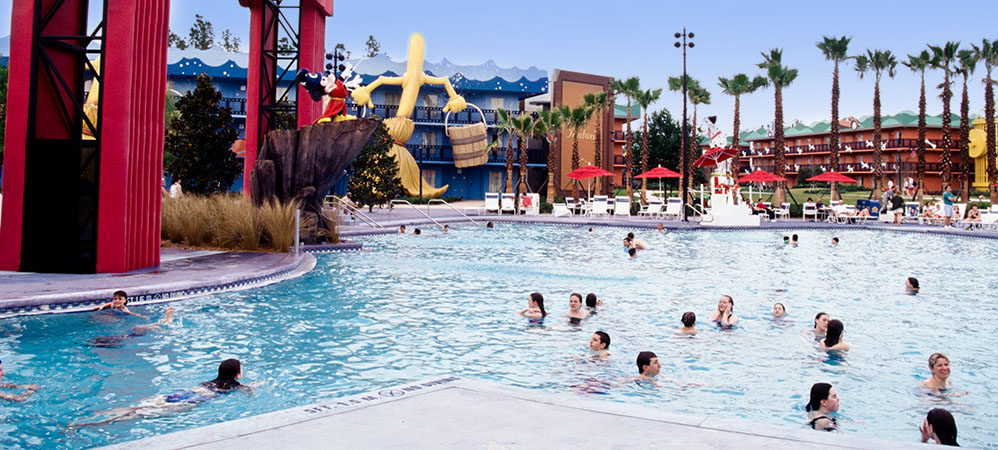 All-Star movies resort POOL