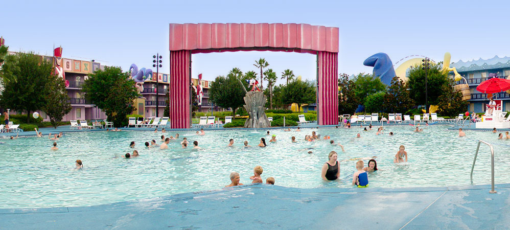 All-Star movies resorts pool