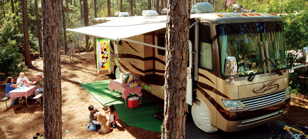 Campsites at disney