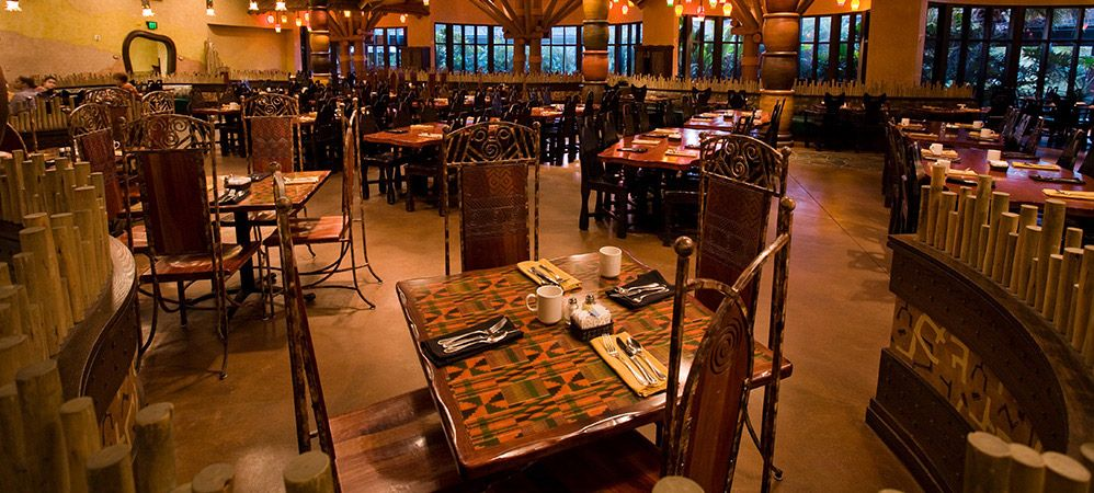 Animal Kingdom Villas Kidani DINING