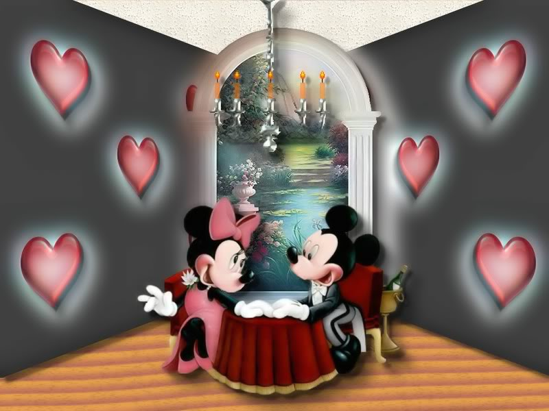 Mickey Minnie love room