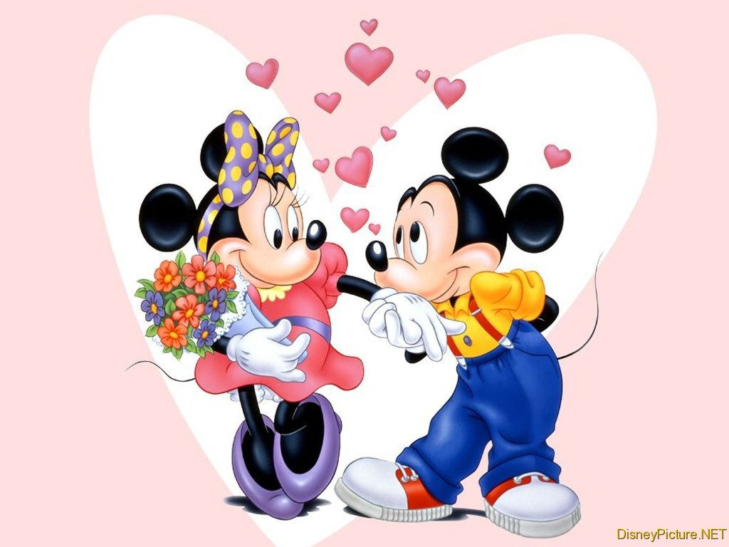 mickey mouse with minnie - photo #21