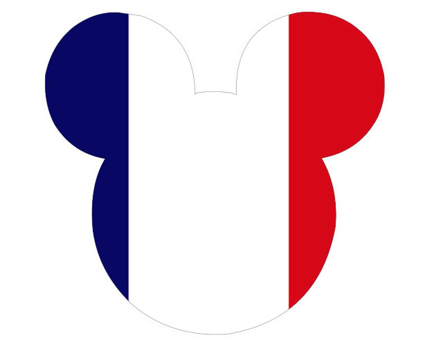 mickey French flag
