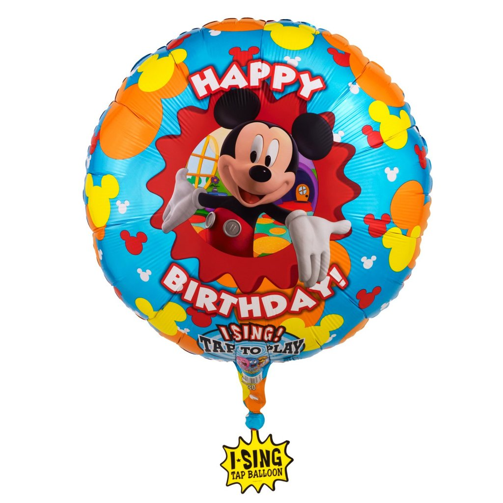 mickey mouse folyo-ballon