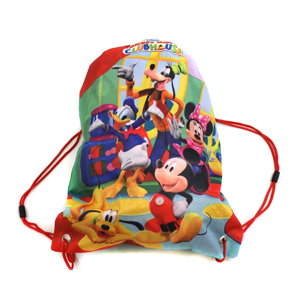 mickey mouse school-bag