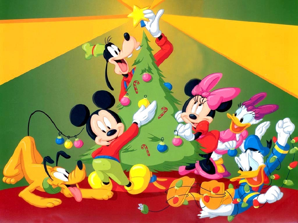 mickey mouse tree