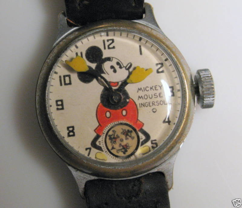 old mickey watch