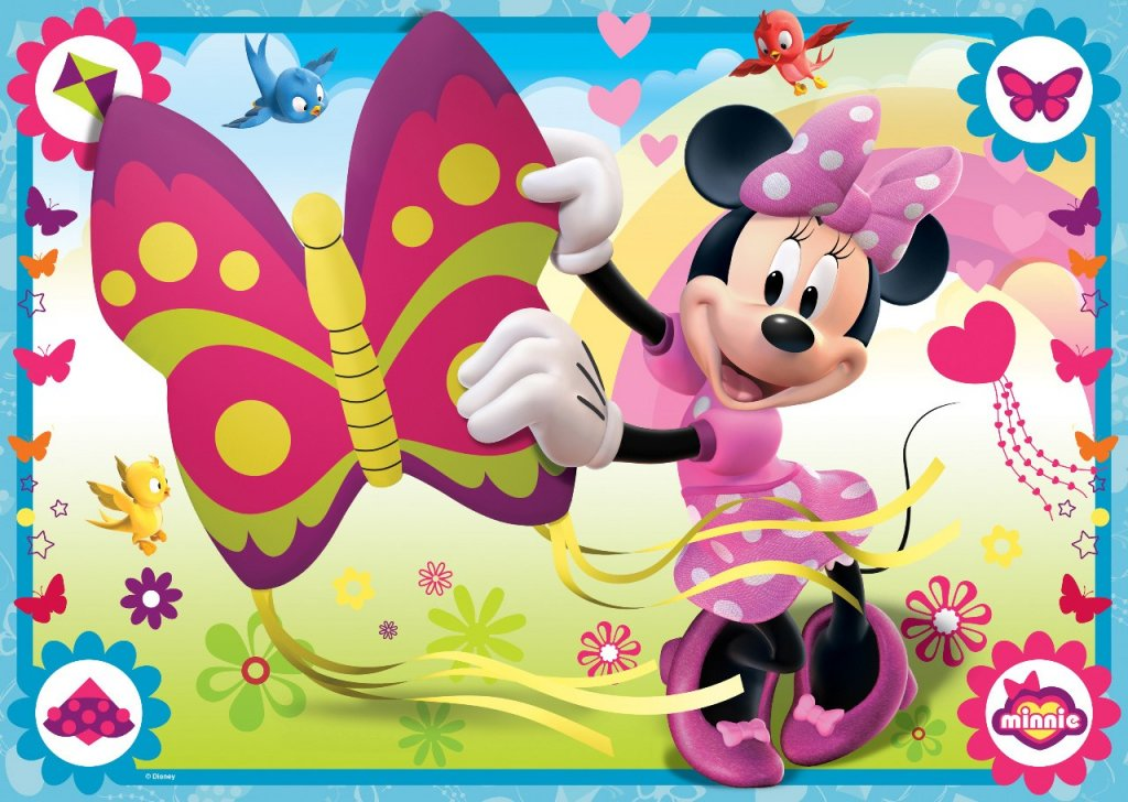 Minnie Mouse butterfly