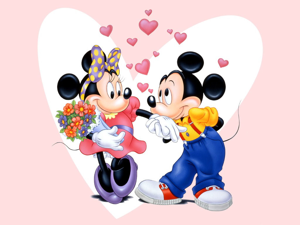 Minnie Mouse love