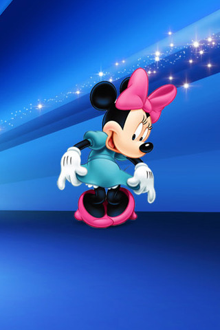 minnie blue