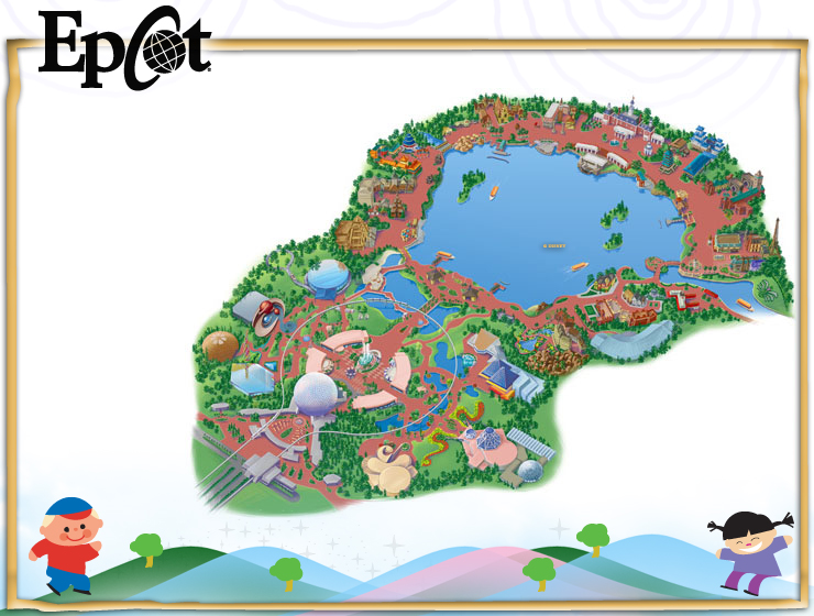 All-Star-Sports -Resort-map