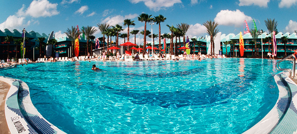All star sports resort pools picture all star sports for Sport pools pictures