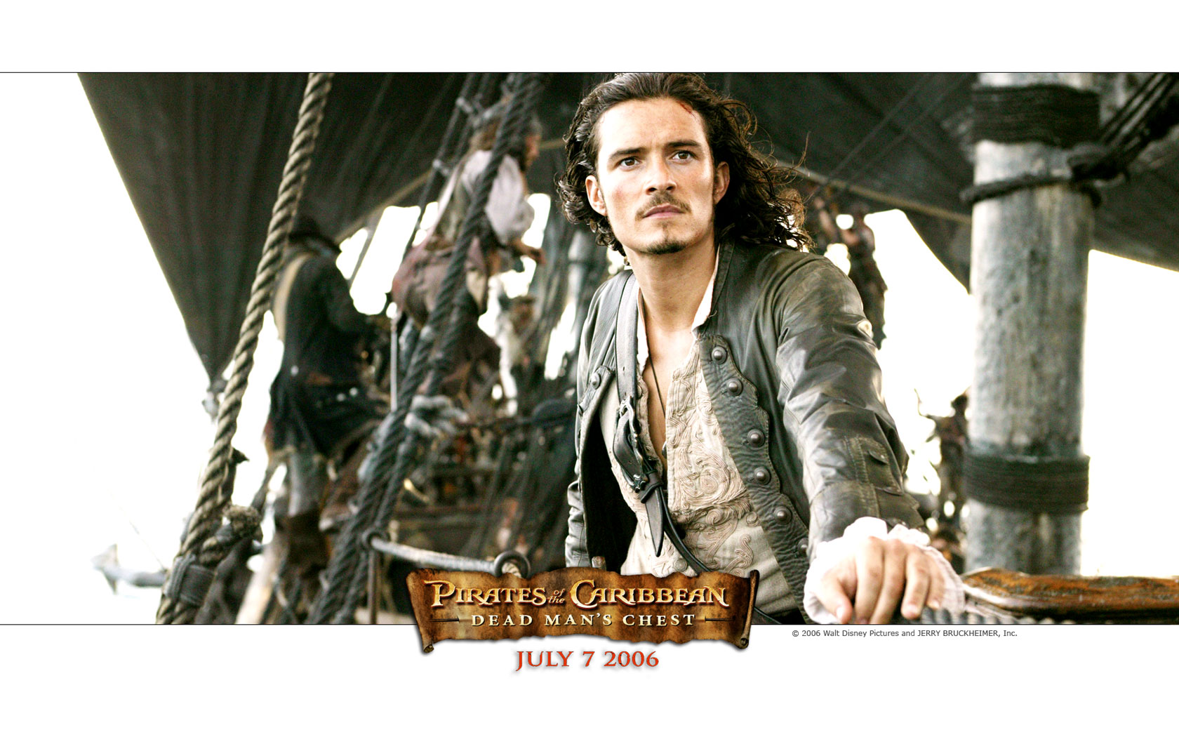 Orlando Bloom- Dead Mans ChestWallpaper 1024