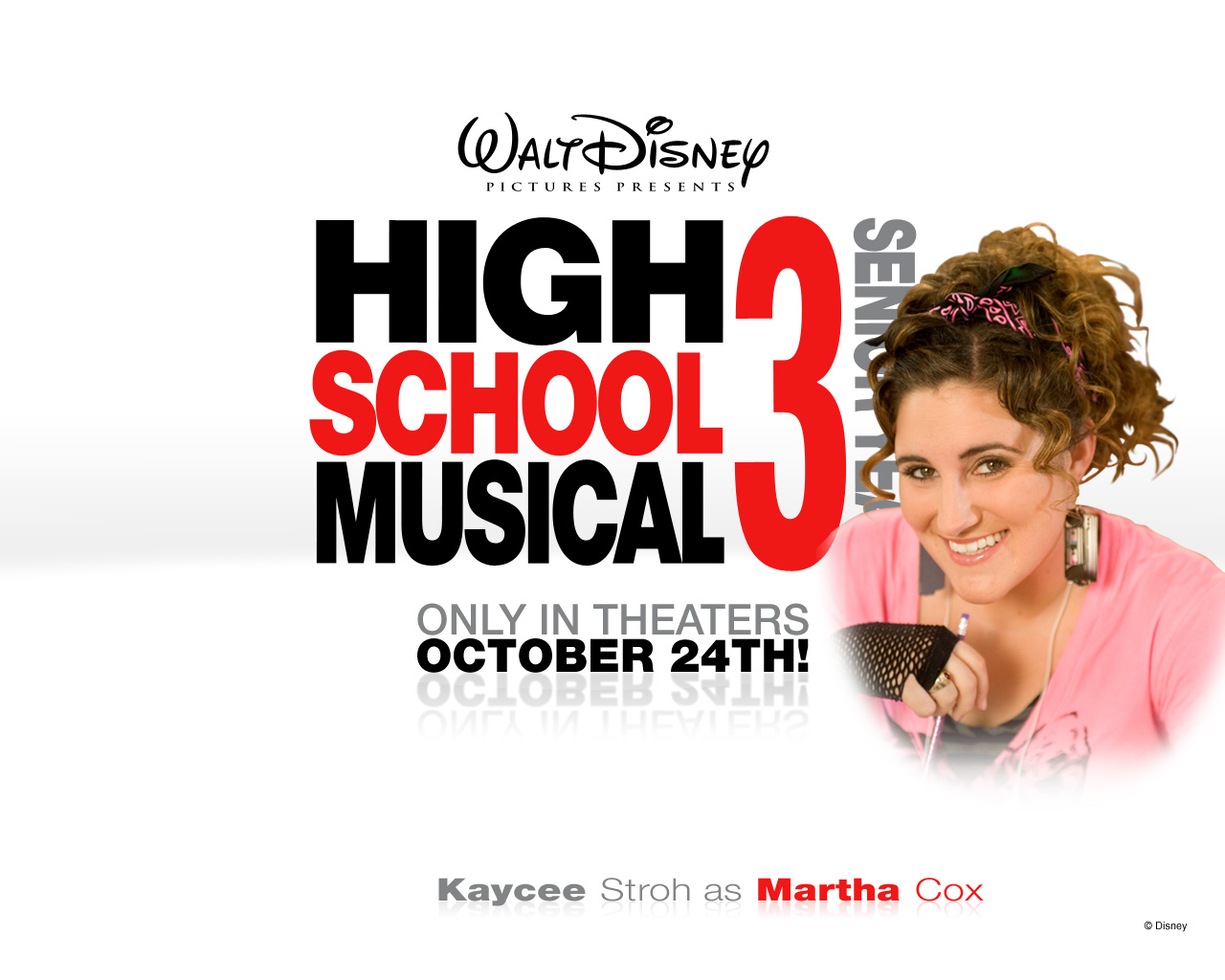 Kaycee Stroh High School Musical 3 1280x1024