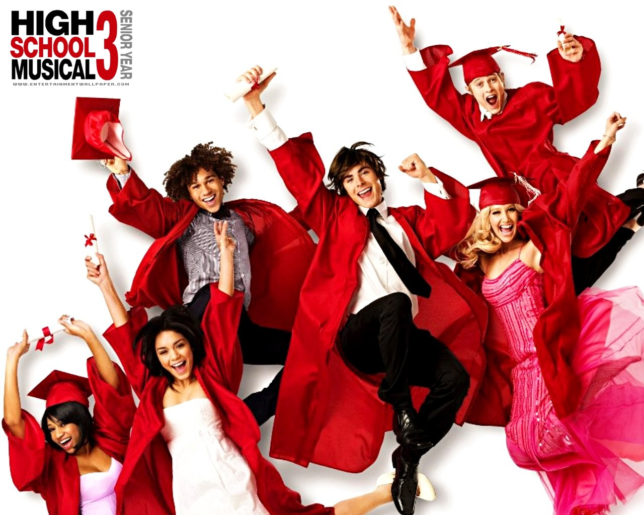 high school musical 3 wallpaper