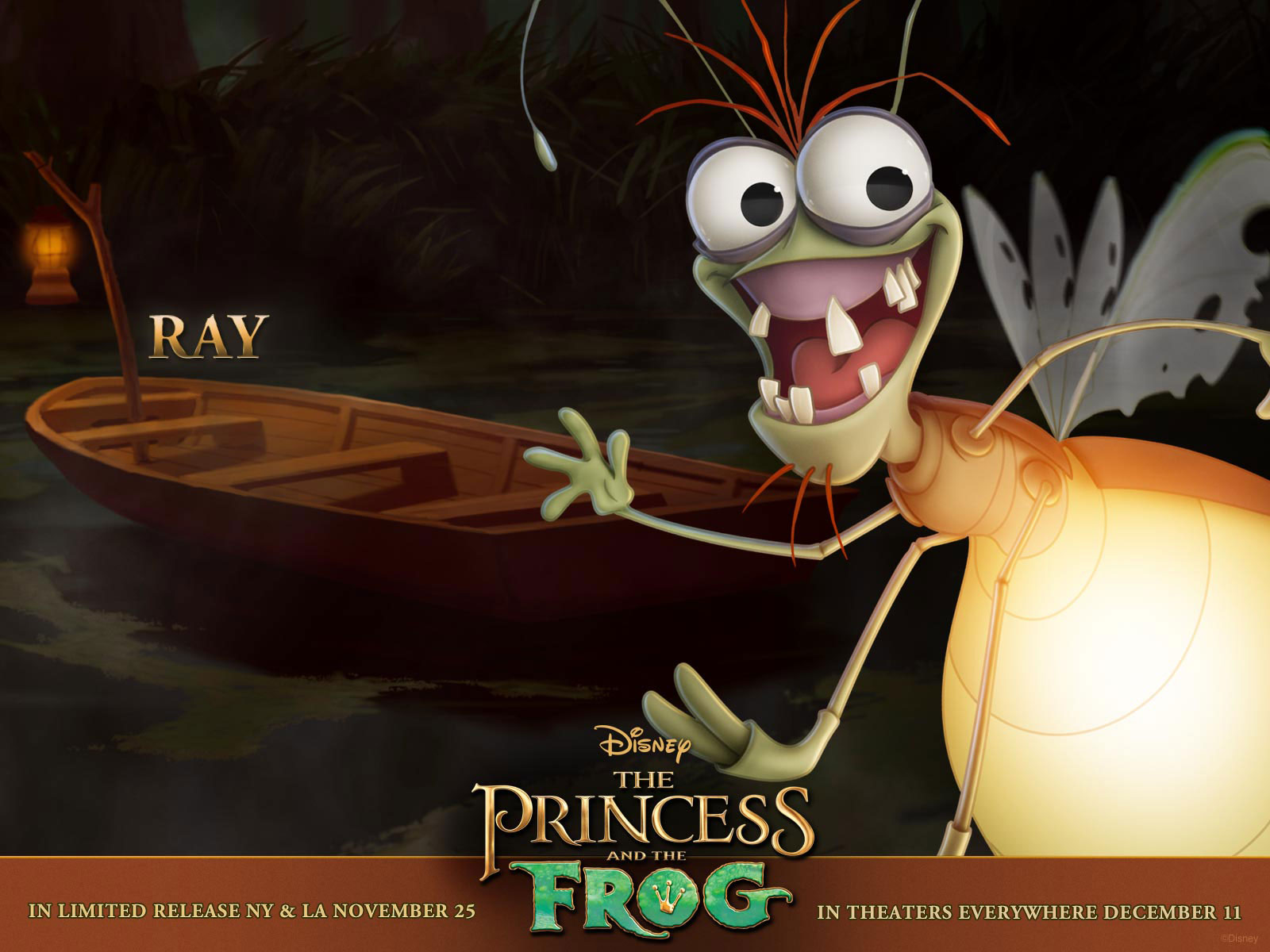 the princess and the frog ray
