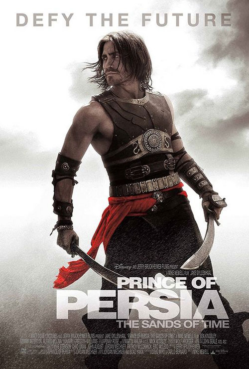 prince of persia the sands of time poster