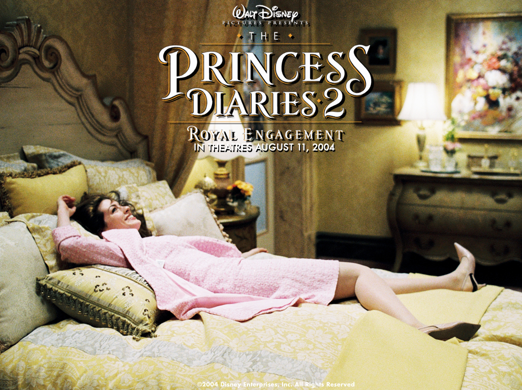 Anne Hathaway in The Princess Diaries2- Royal Engagement Wallpaper 1280