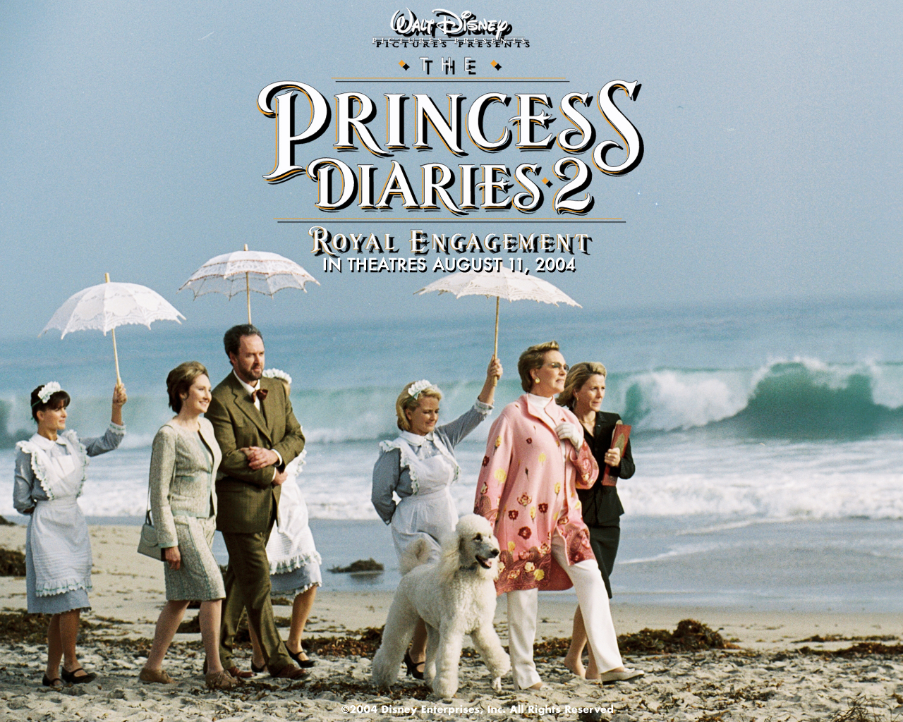 Anne Hathaway in The Princess Diaries 2- Royal Engagement Wallpaper 1280 960