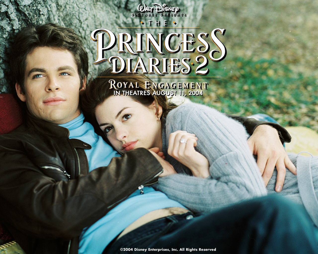 Anne Hathaway in The Princess Diaries 2 Royal Engagement Wallpaper 1280 960