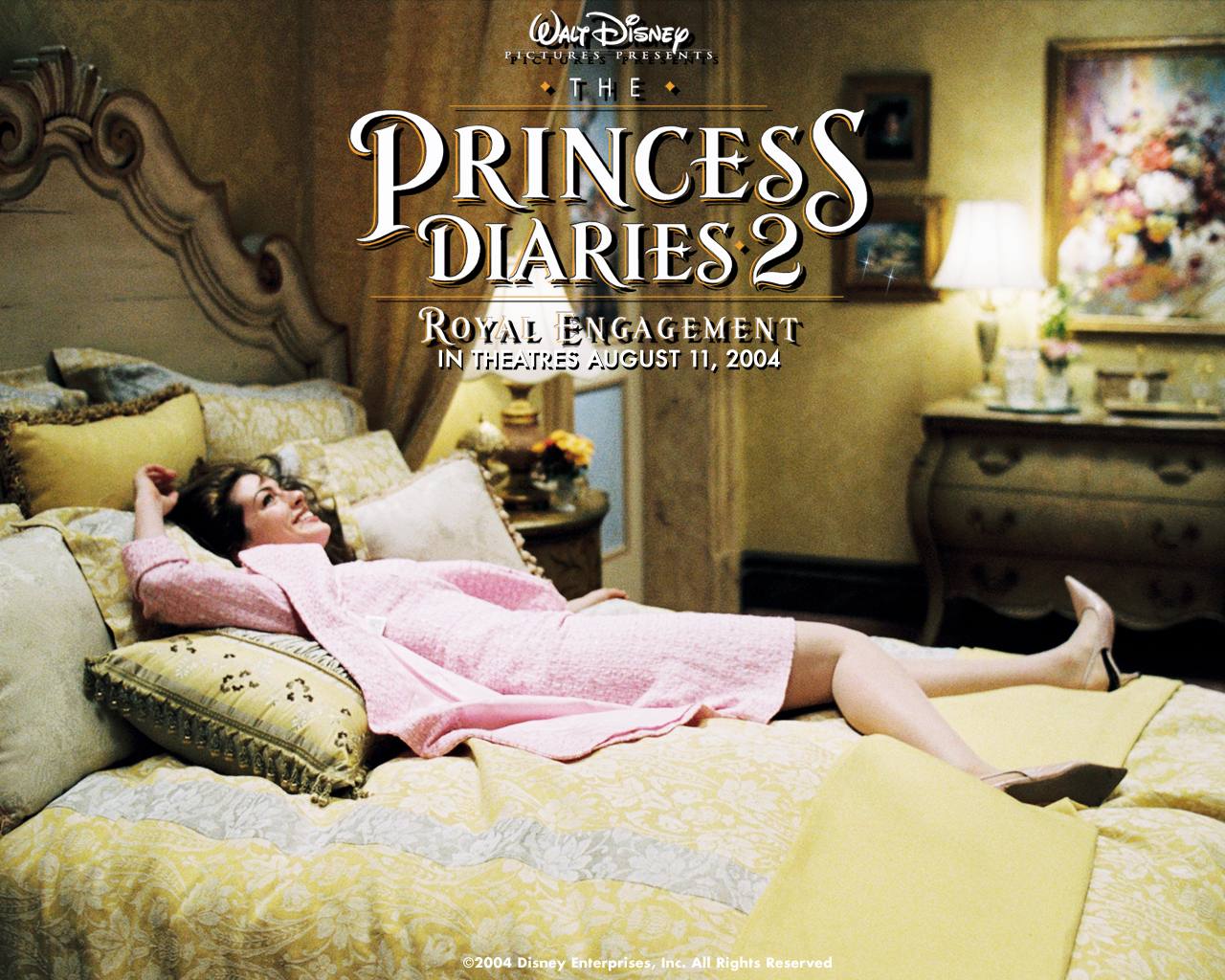 Anne Hathaway in The Princess Diaries 2 Royal Engagement Wallpaper 1280x960
