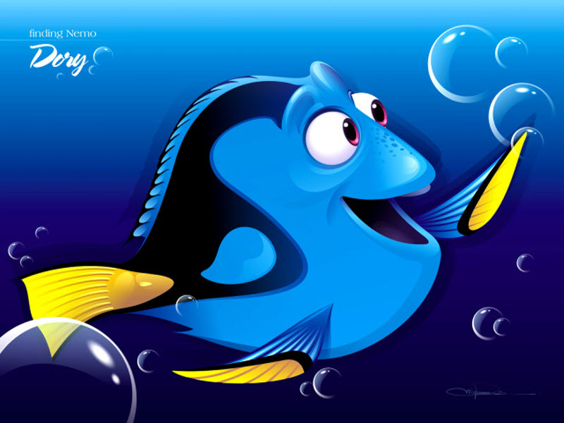 Dory nemo-wallpaper