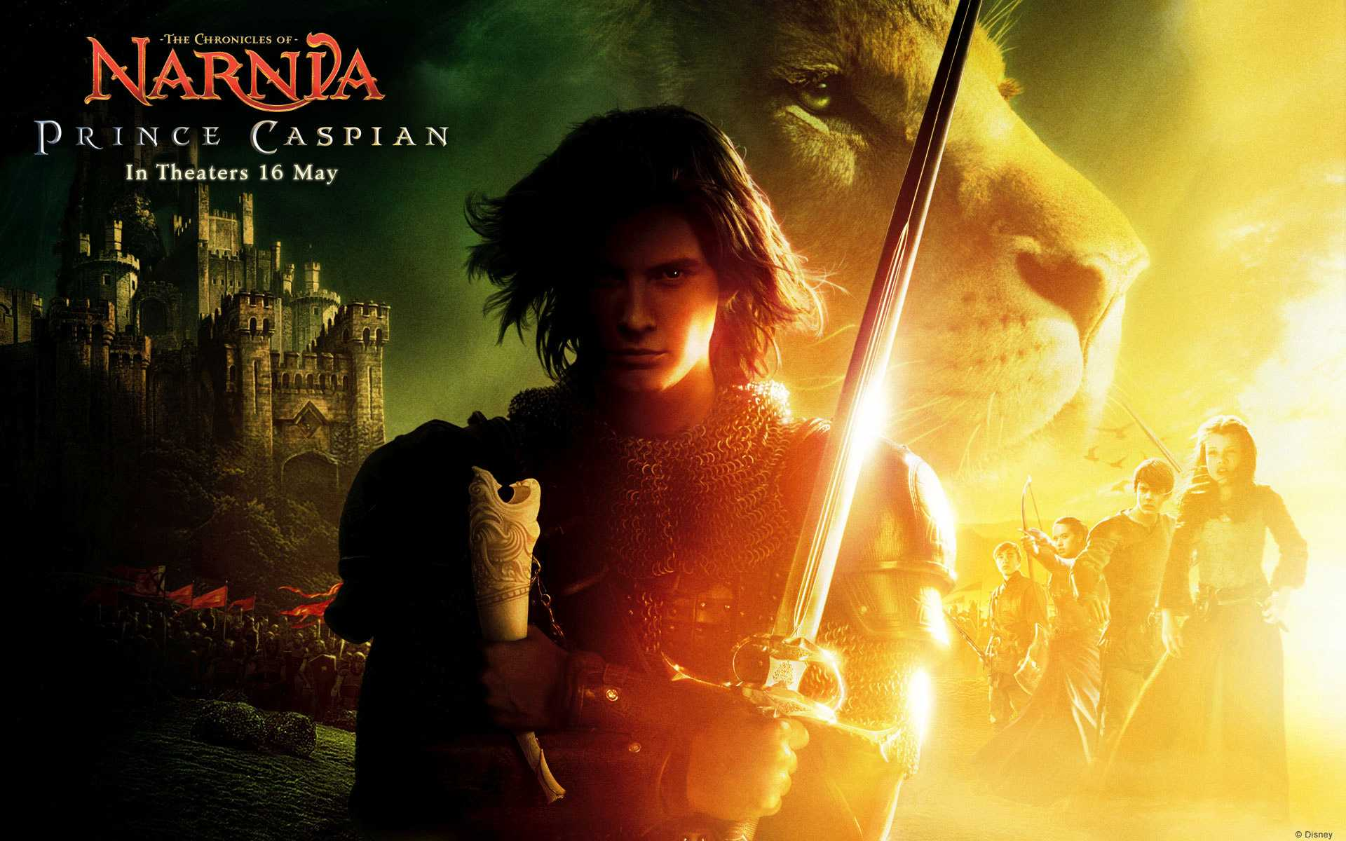2008 the chronicles of narnia prince caspian wallpaper