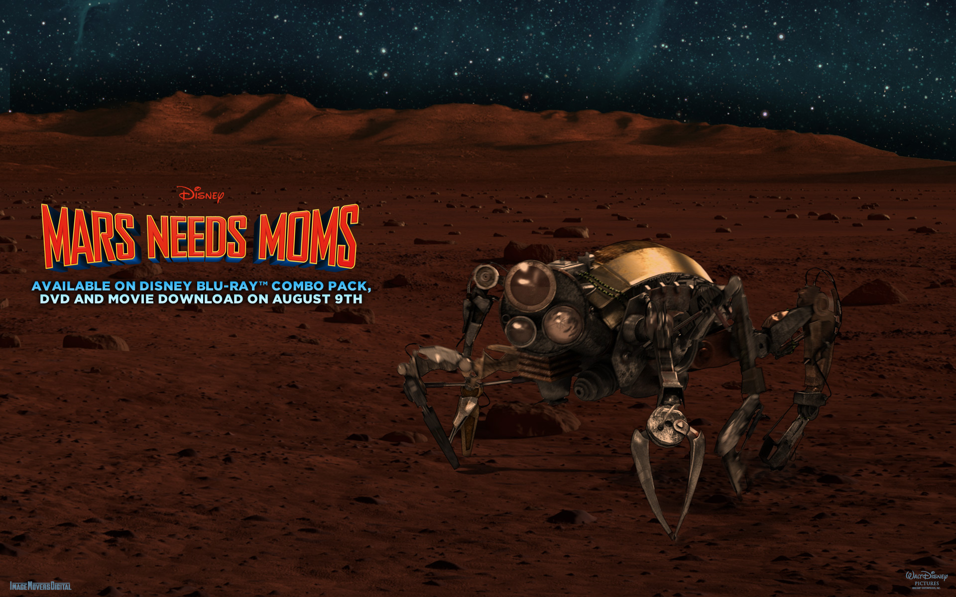 disney mars needs moms wallpaper 1920