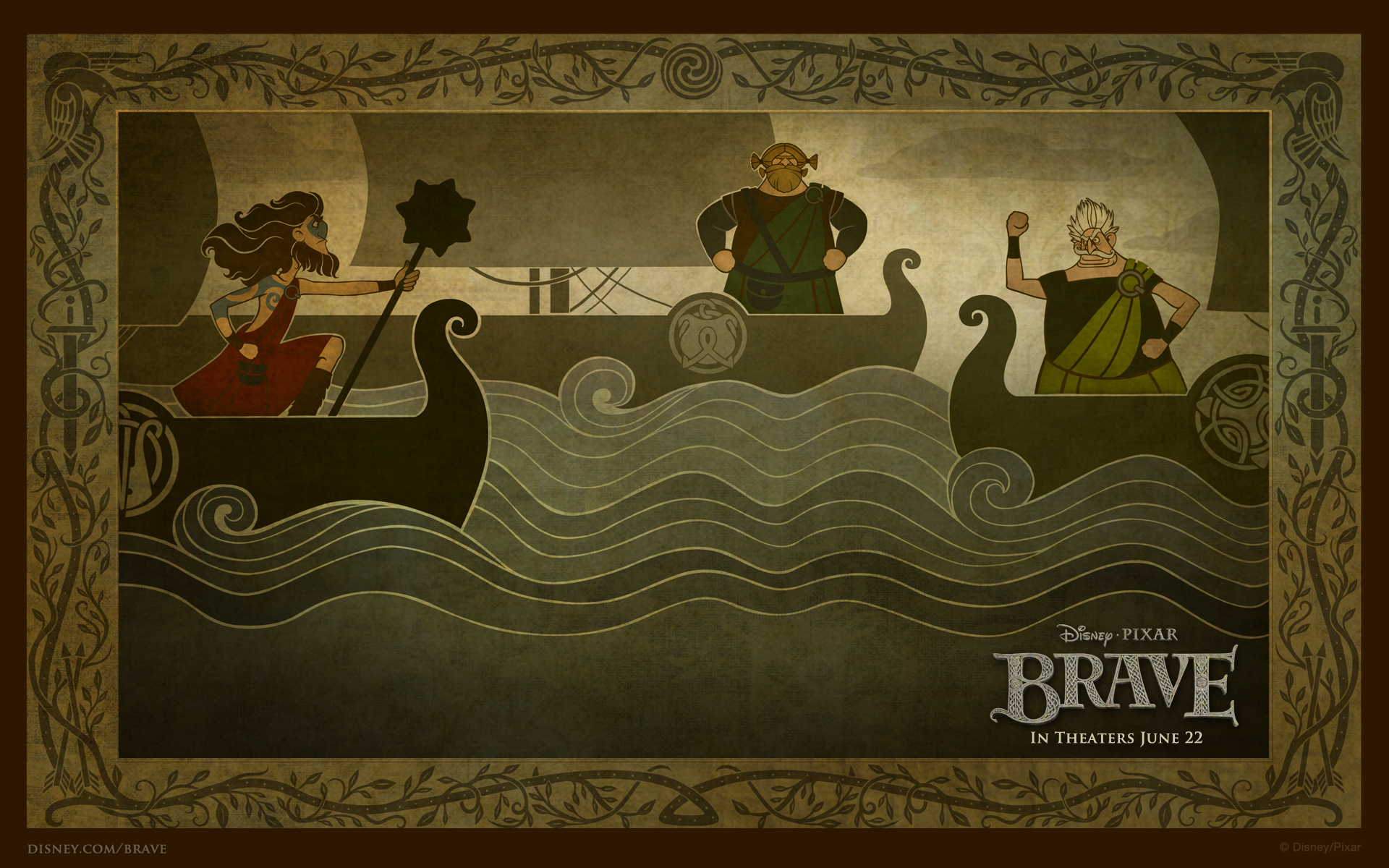 Brave boats widescreen