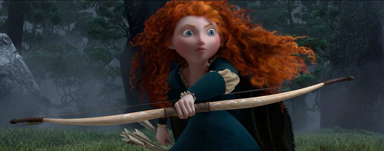 brave merida-screen