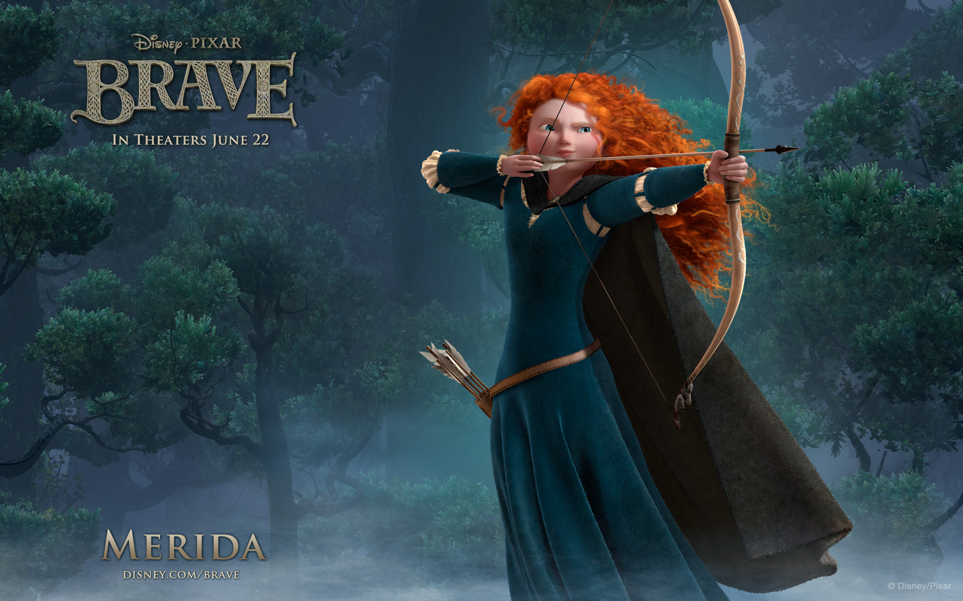 Brave Merida widescreen