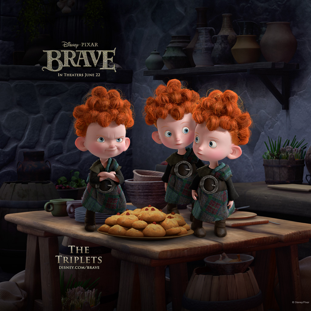 brave iPad The Triplets