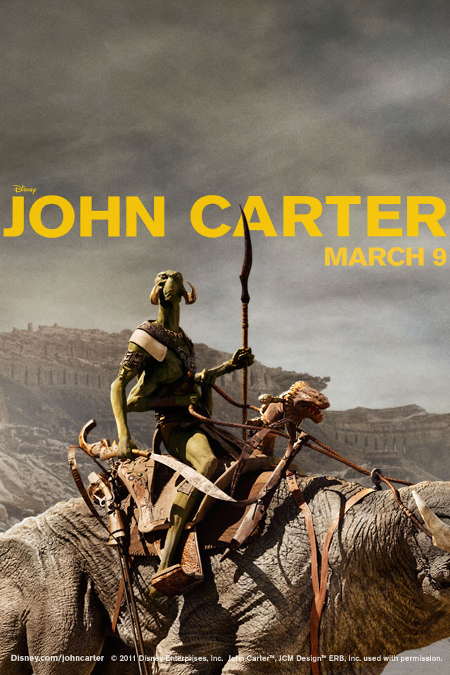 john carter iphone