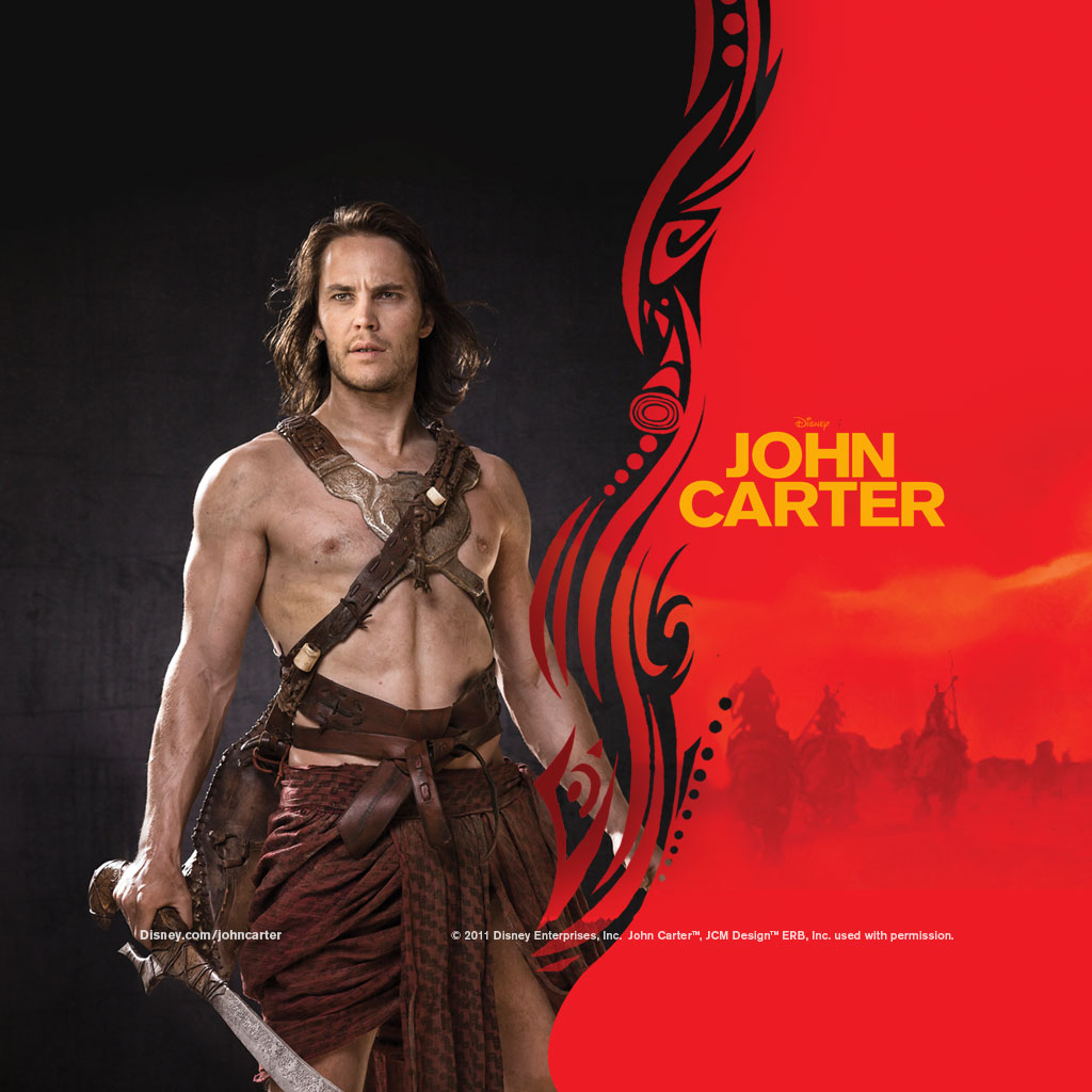 john carter movie ipad