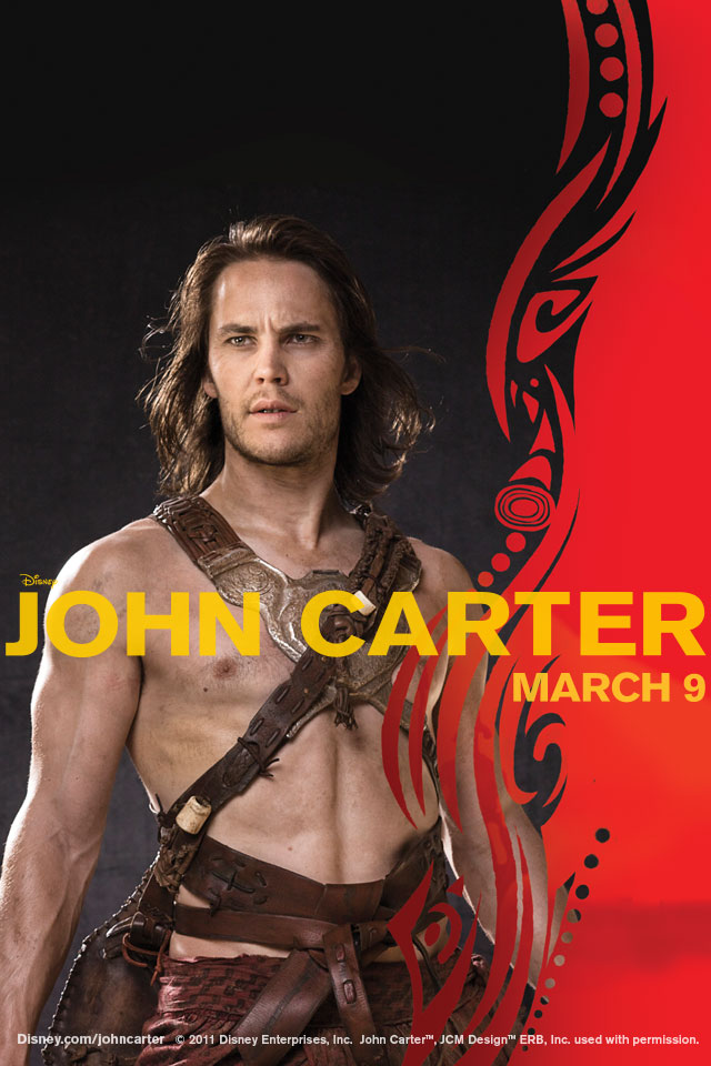 john carter movie iphone