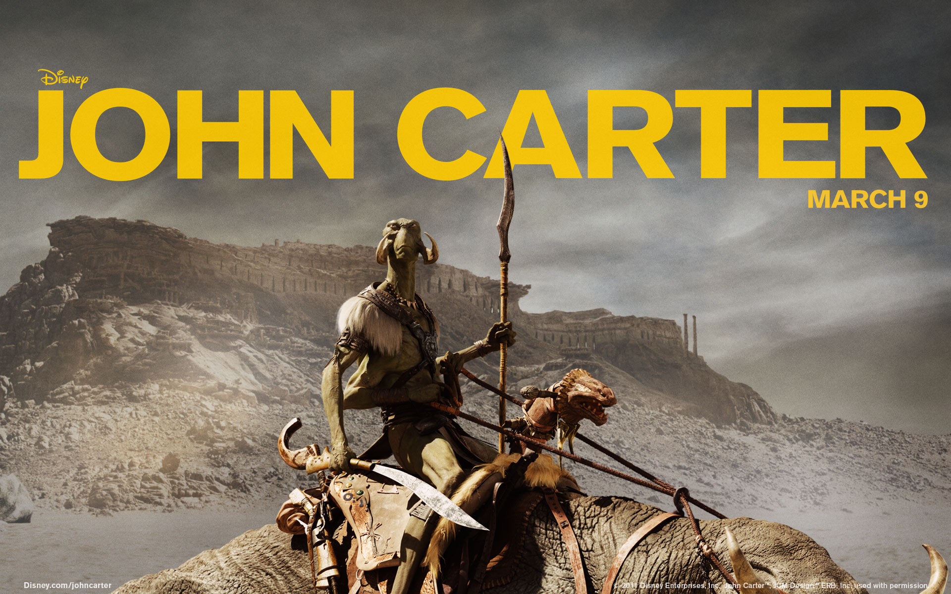 john carter widescreen