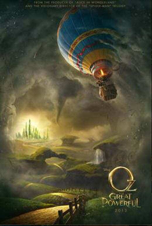 Oz The Great and Powerful-poster