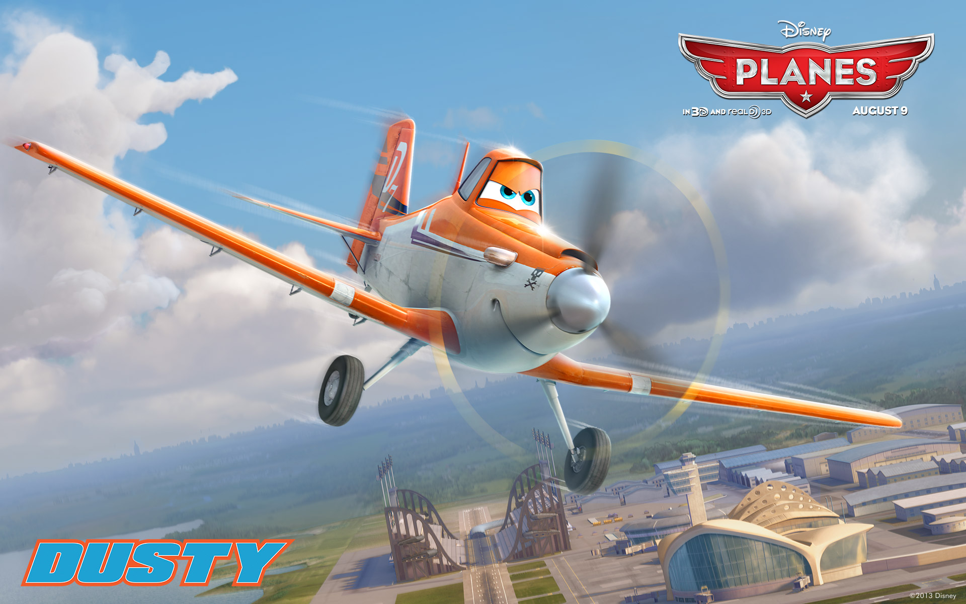 Disney Planes dusty 1920 x 1200