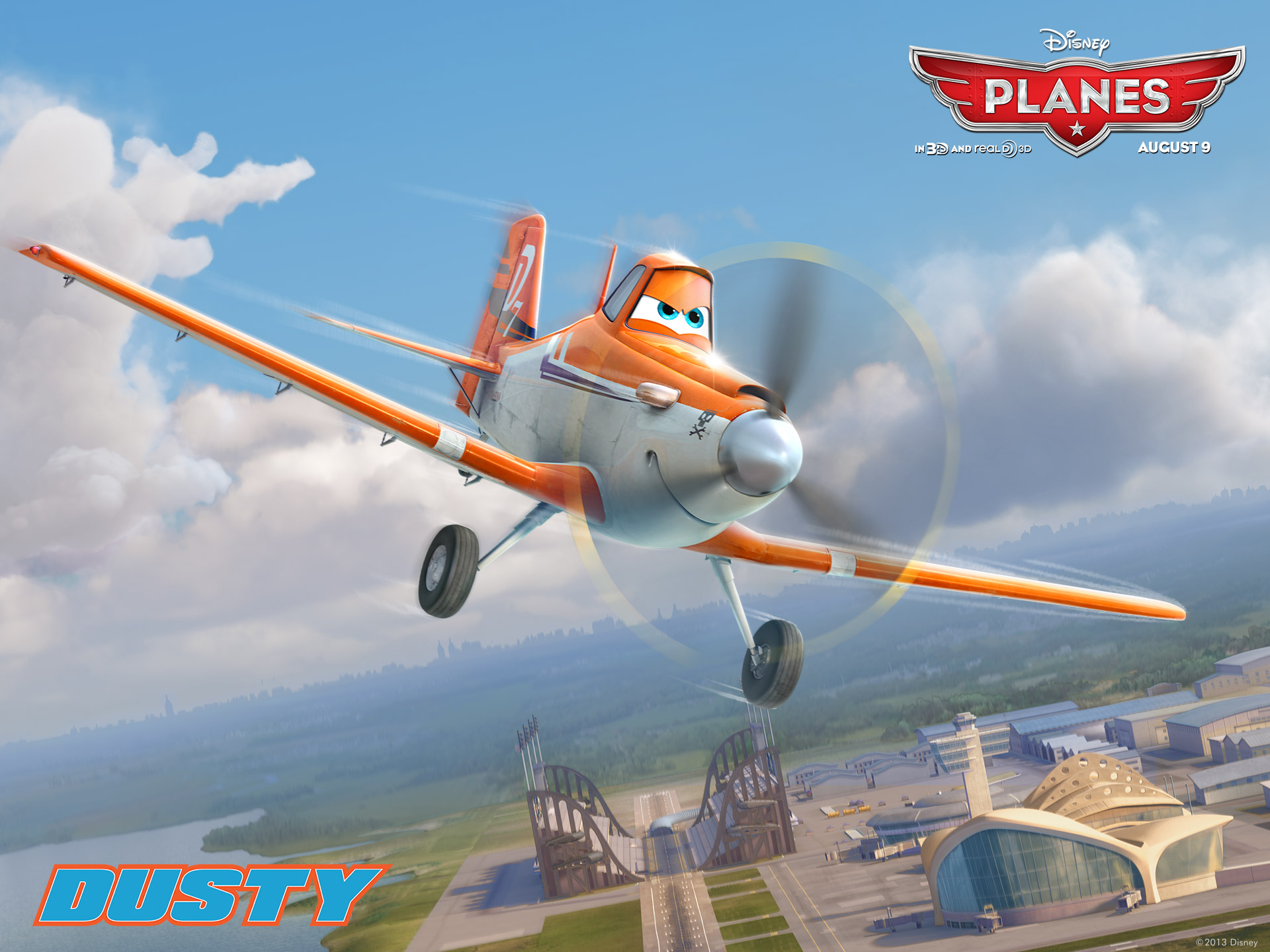Disney Planes dusty 1920 x 1440