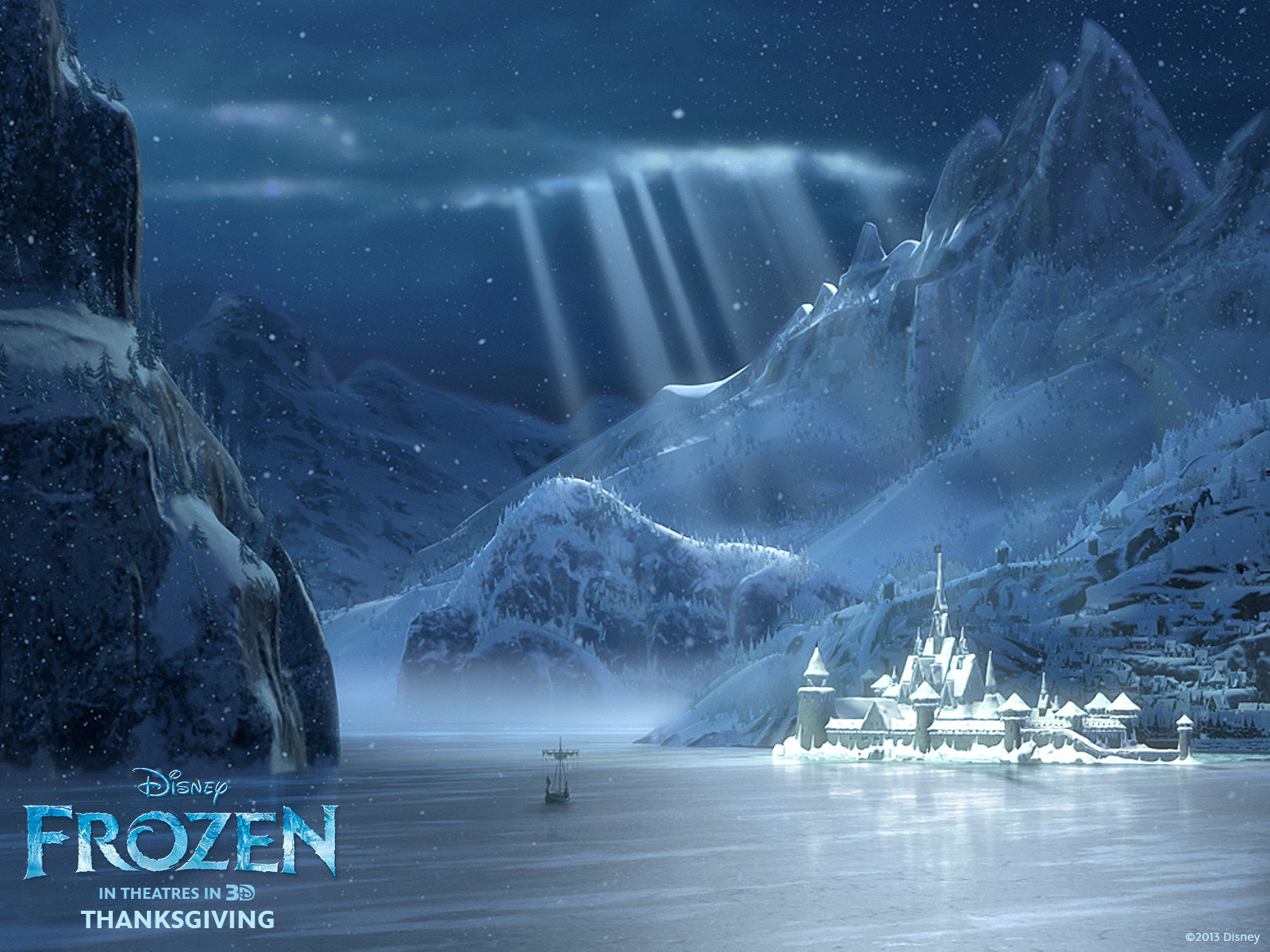 frozen winter arendelle