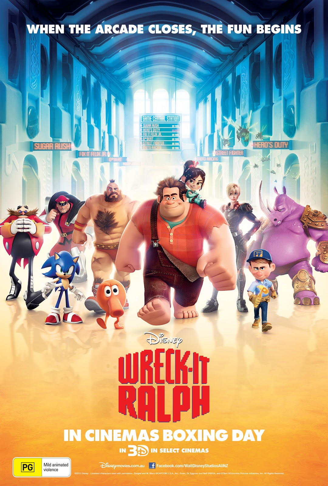 wreckitralph poster picture wreckitralph poster image