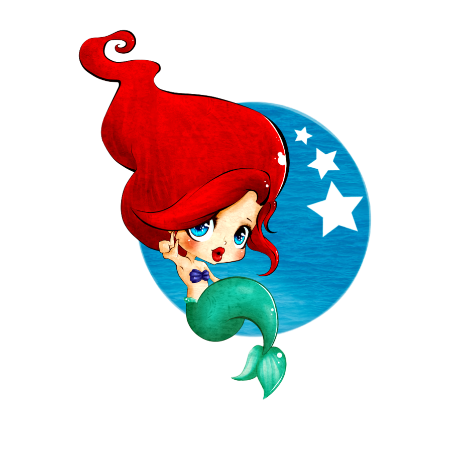 a little mermaid baby