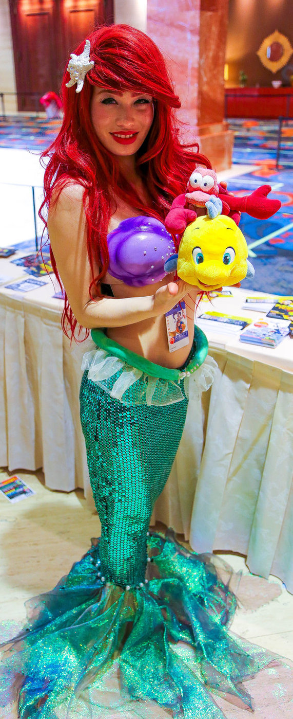 the little mermaid costume