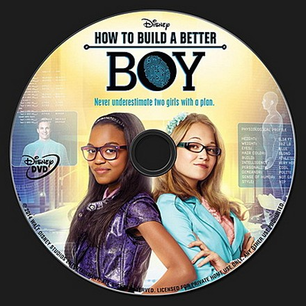 How to Build a Better Boy DVD