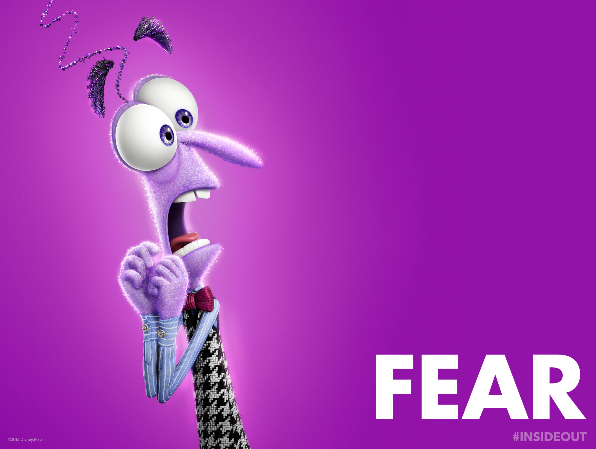 inside out  Fear wallpaper
