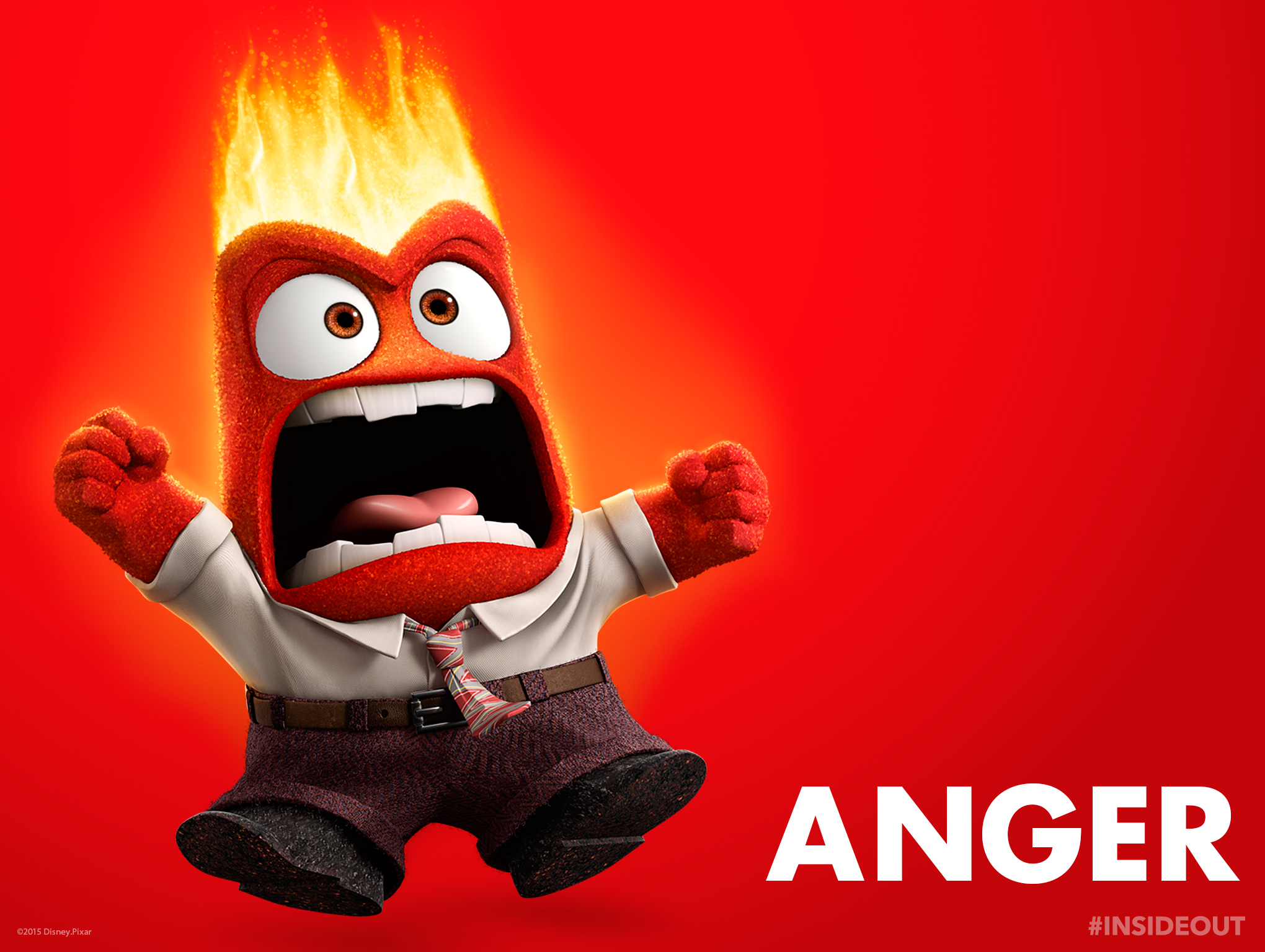 inside out Anger standard