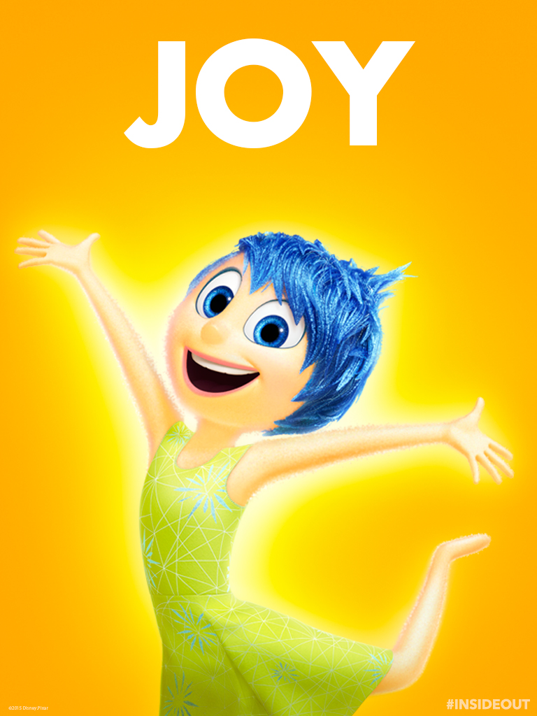 inside out Joy tablet